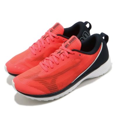 Mizuno 慢跑鞋 Duel Sonic 2 運動 男鞋 美津濃 路跑 緩震 透氣 穿搭 紅 黑 U1GD213473