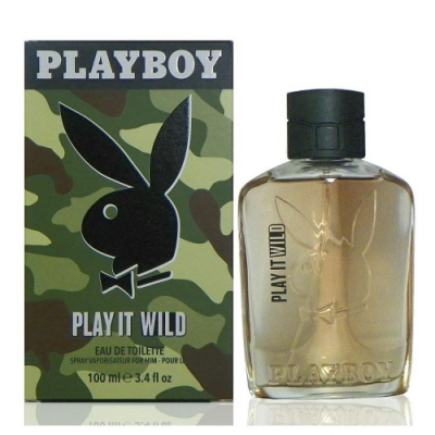 Playboy Play It Wild 狂野之愛淡香水 100ml