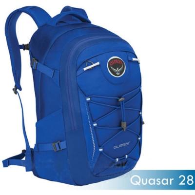 OSPREY 新款 Quasar 28L 超輕多功能城市休閒筆電背包_藍 R