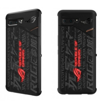 ASUS 原廠ROG Phone II 炫光智慧保護殼(適用ZS660KL用)
