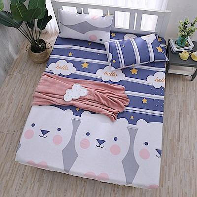 DESMOND岱思夢 加大 天絲床包枕套三件組(3M專利吸濕排汗技術) 南瓜塔