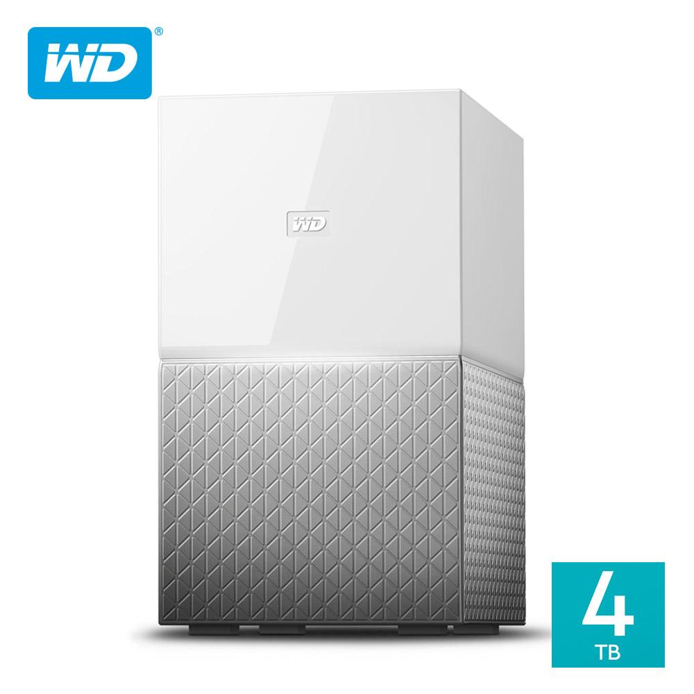 WD My Cloud Home Duo 4TB(2TBx2)3.5吋雲端儲存系統