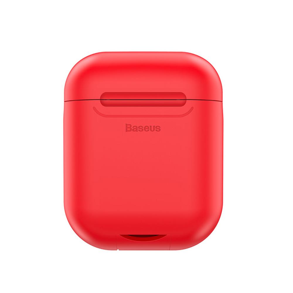 倍思 AirPods無線充電盒 Qi無線充電接收盒 矽膠保護套