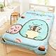 享夢城堡 超柔暖暖毯被150x195cm-角落小夥伴 壽司蜥蜴-水藍 product thumbnail 1