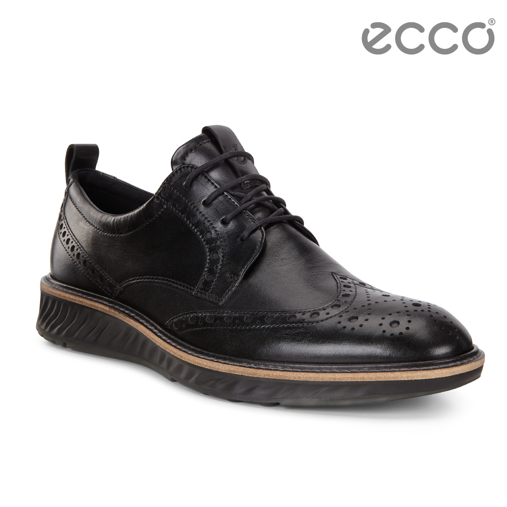 ECCO ST.1 Hybrid 運動紳士德比正裝鞋 男-黑