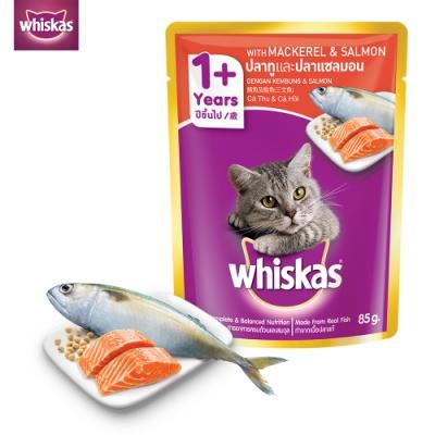 偉嘉 妙鮮包鯖魚及鮭魚85g x12入