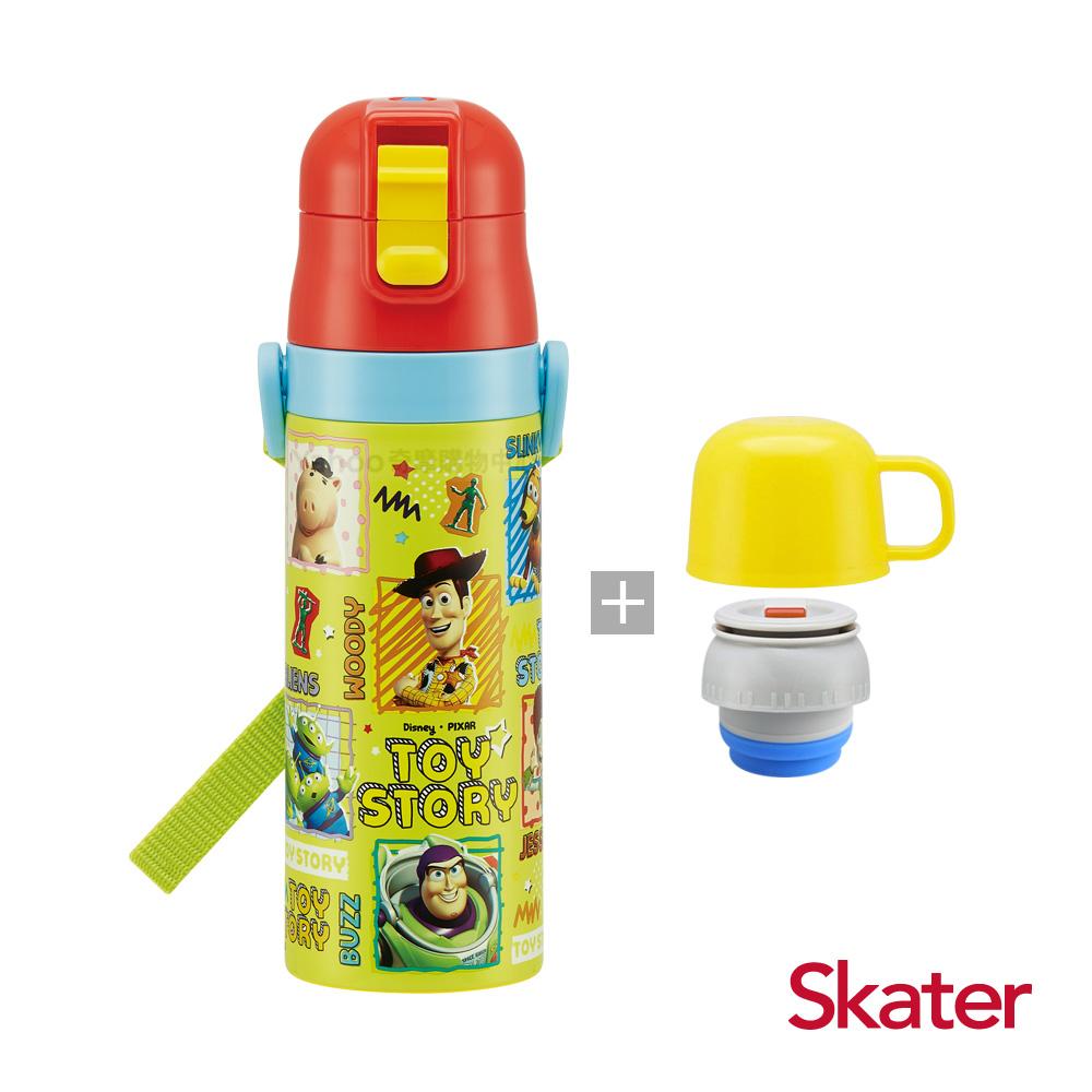 Skater直飲2way保溫水壺(附杯蓋組)-ToyStory