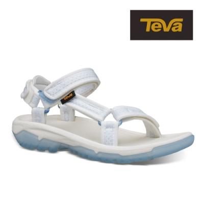 【TEVA】原廠貨 女 Hurricane XLT2 Frost 水晶底機能運動涼鞋/雨鞋/水鞋(白色-TV1106848WHT)