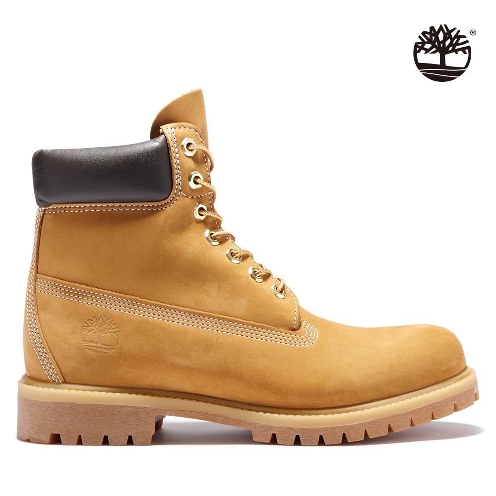 Timberland 男款小麥黃經典防水6吋靴|10061