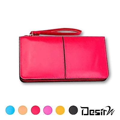 DesirW-歐美時尚大容量手機錢包長夾(顏色任選)