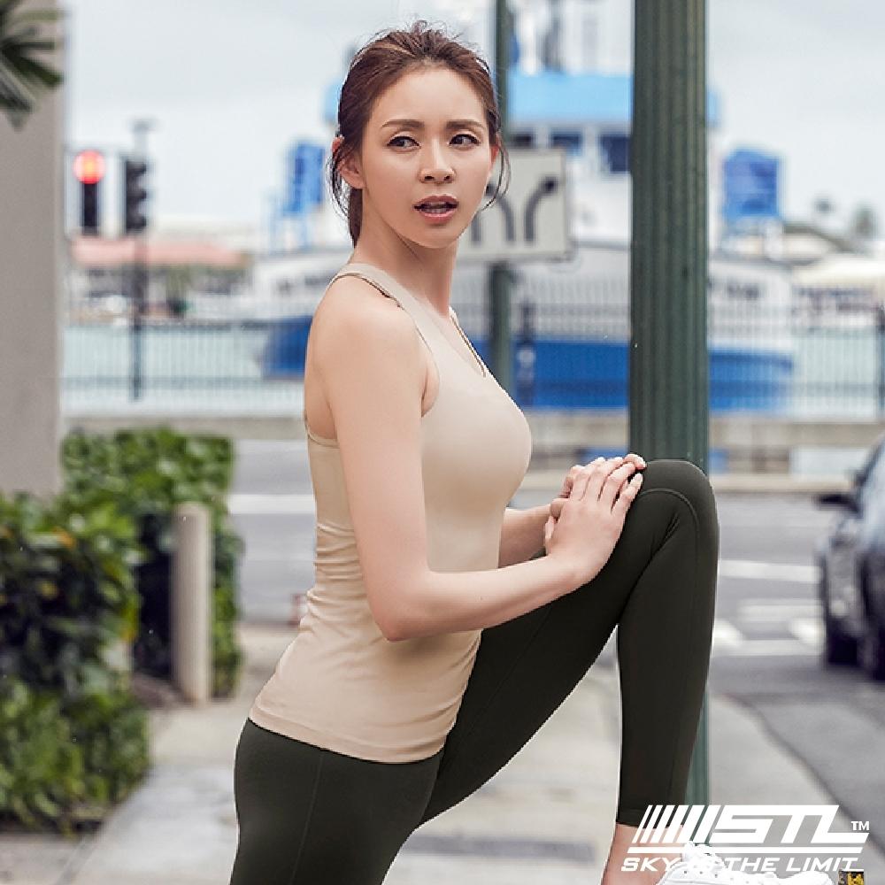 STL yoga bra T SS Balance Slim 韓國瑜珈 運動機能訓練背心上衣(含胸墊)平衡裸膚