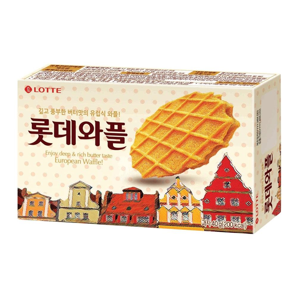 Lotte樂天 鬆餅(40g)
