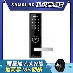 SHS-H505密碼感應卡鑰匙三合一手把型電子鎖