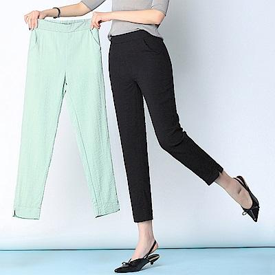 視覺顯瘦時尚小腳褲S-5XL(共三色)WHATDAY