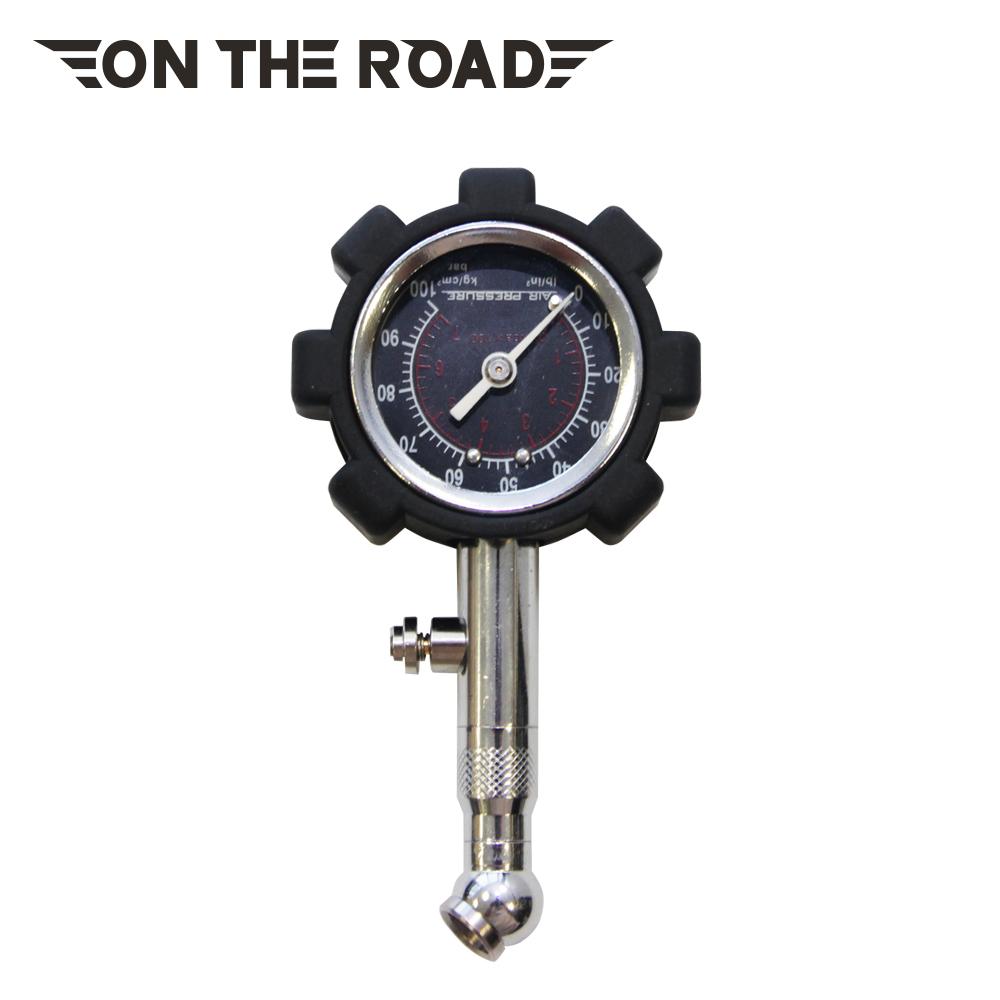 【ON THE ROAD】可洩壓胎壓錶