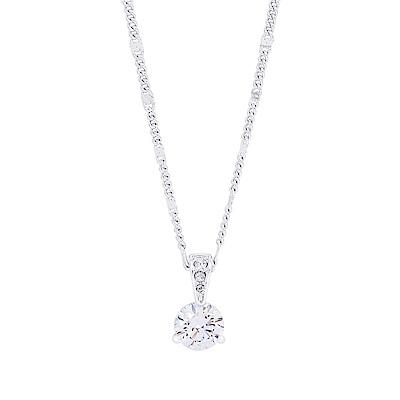 SWAROVSKI 施華洛世奇 Solitaire璀璨亮鑽水晶鏈墜銀色項鍊