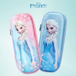 迪士尼冰雪奇緣 3D立體多隔層鉛筆盒筆袋