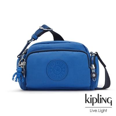 Kipling 時髦蔚藍好收納隨身斜背包-JENERA MINI