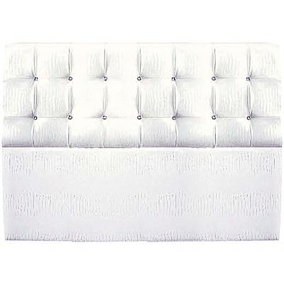 綠活居 卡利塔時尚5尺水鑽皮革雙人床頭片(二色可選)-153x20x105cm免組