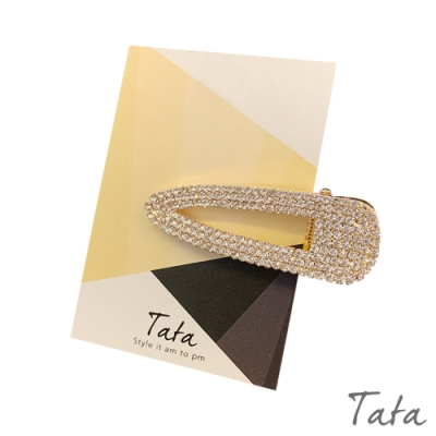 閃鑽髮夾 TATA