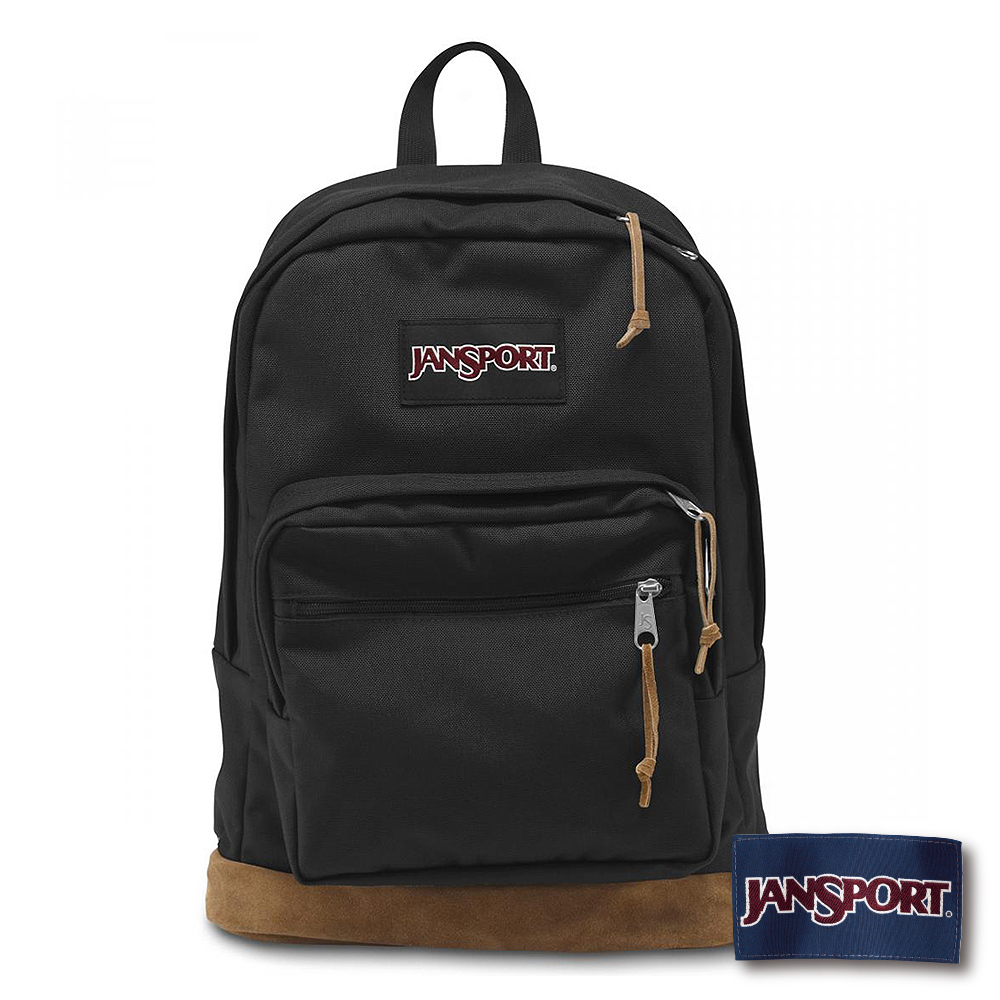 JanSport -RIGHT PACK系列後背包 -黑