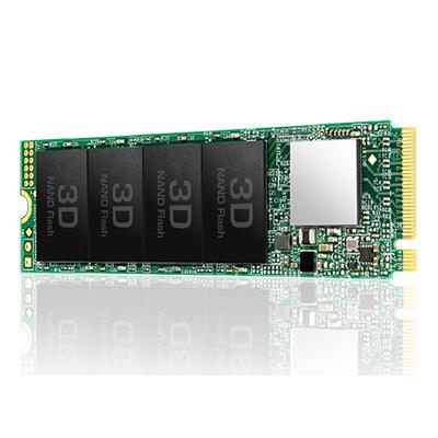 創見MTE-110S 1TB M.2 2280 PCIe SSD 固態硬碟