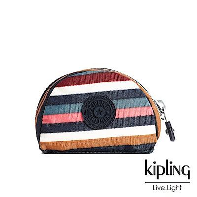 Kipling繽紛仲夏條紋配件零錢包-TRIX