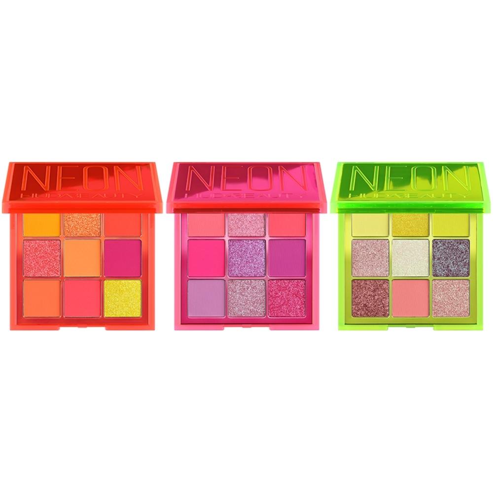 HUDA BEAUTY 霓虹系列 9色眼影盤9x1.1g