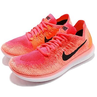 Nike 慢跑鞋 Free RN Flyknit 運動 女鞋