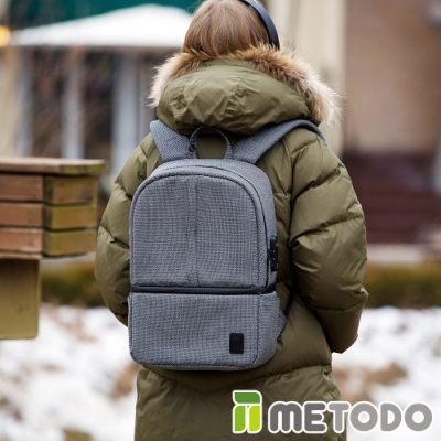 【METODO防盜包】Backpack M 不怕割後背包/休閒旅遊包TSL-205黑