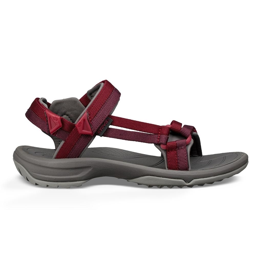 TEVA Terra Fi Lite 女 休閒涼鞋 深紅色
