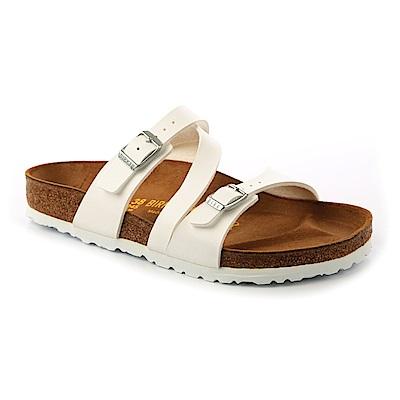 勃肯BIRKENSTOCK 023131。SALINA薩利納 斜槓拖鞋(白色)