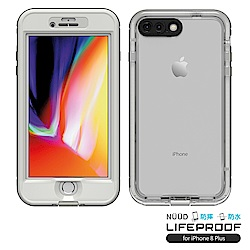LIFEPROOF iPhone 8+專用 防水防雪防震防泥超強保護殼-簍空NUUD(白)