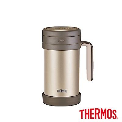 THERMOS膳魔師不鏽鋼真空保溫杯0.5L(TCMF-501)-GL(金色)