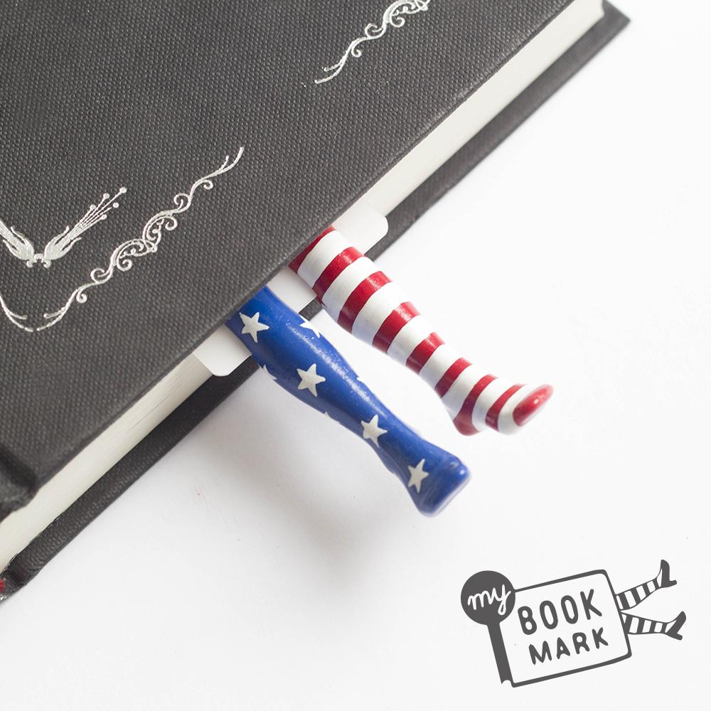 烏克蘭myBookmark-美國國慶襪的書籤