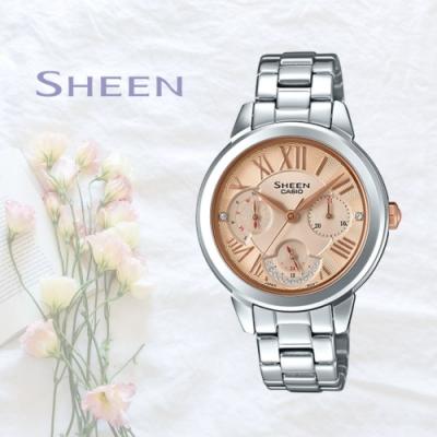CASIO卡西歐 秀氣時尚腕錶(SHE-3059D-9A)
