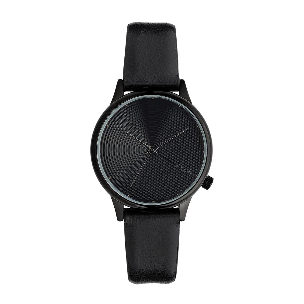 KOMONO Estelle Deco 腕錶-瑪瑙黑/36mm