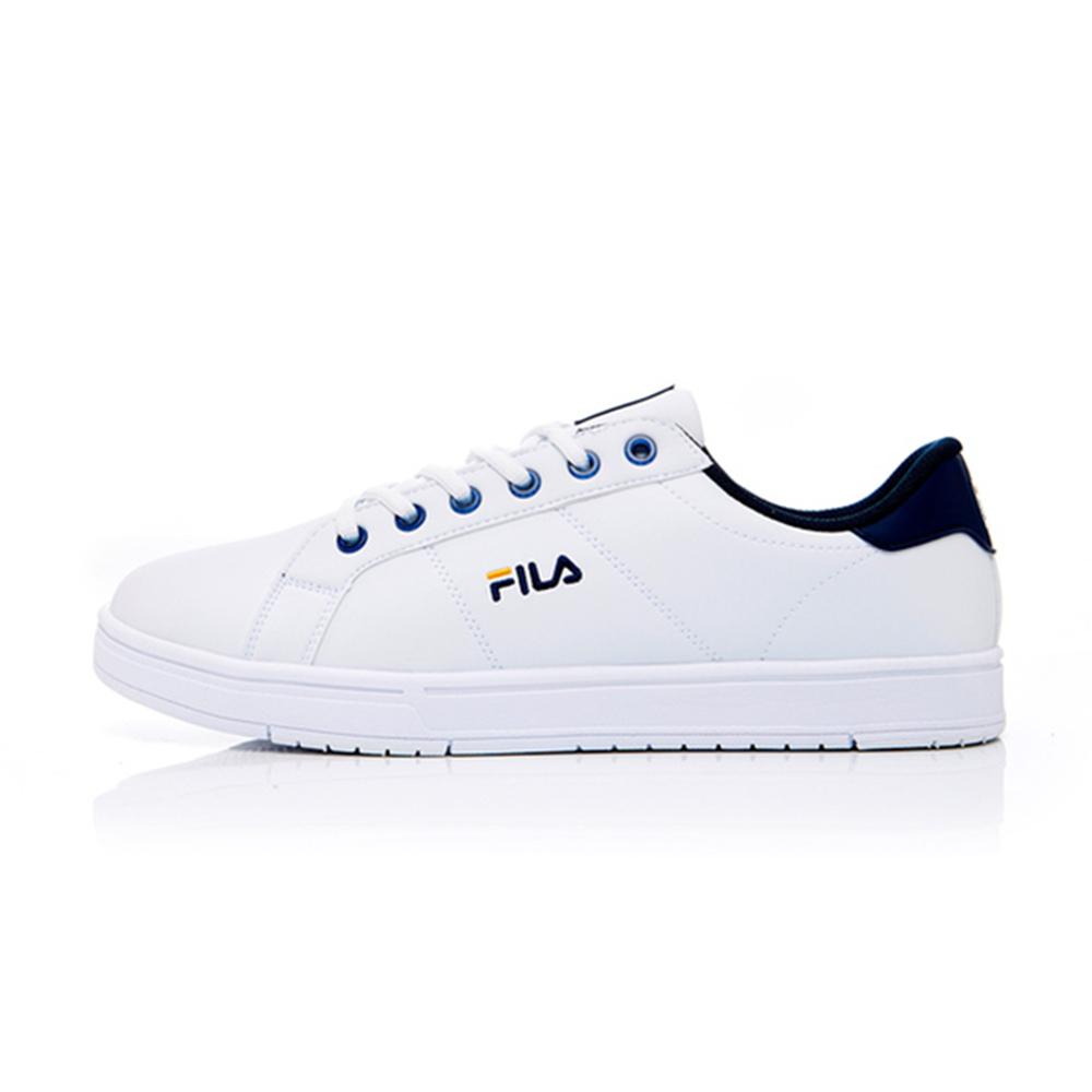 (男)FILA Court Deluxe 潮流復古鞋-丈青