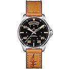 Hamilton漢米爾頓卡其航空系列DAY DATE機械腕錶(H64645531)
