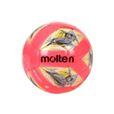 MOLTEN #3合成皮足球-3號球 訓練 F3A2000-RY 螢光粉黃銀