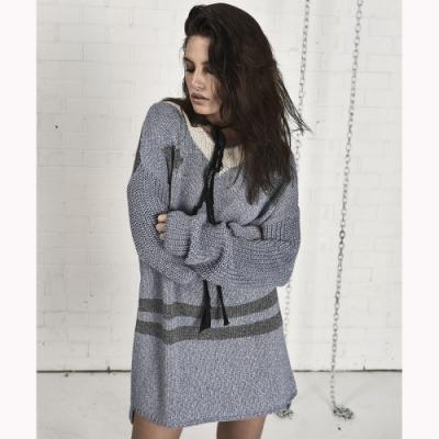 OneTeaspoon 針織洋裝 KNIT DRESS - 女(藍/白/灰)