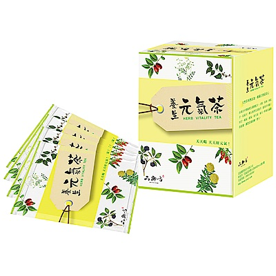 品御方  養生元氣茶10入/盒