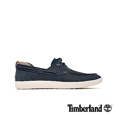 Timberland 男款海軍藍帆船鞋|A24F3