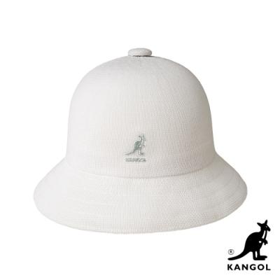 KANGOL-TROPIC 鐘型帽-白色