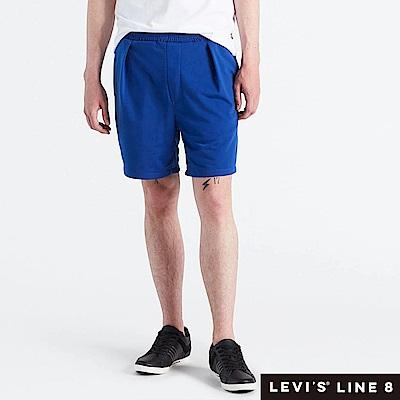 Levis 男款 針織短褲 鬆緊帶褲頭