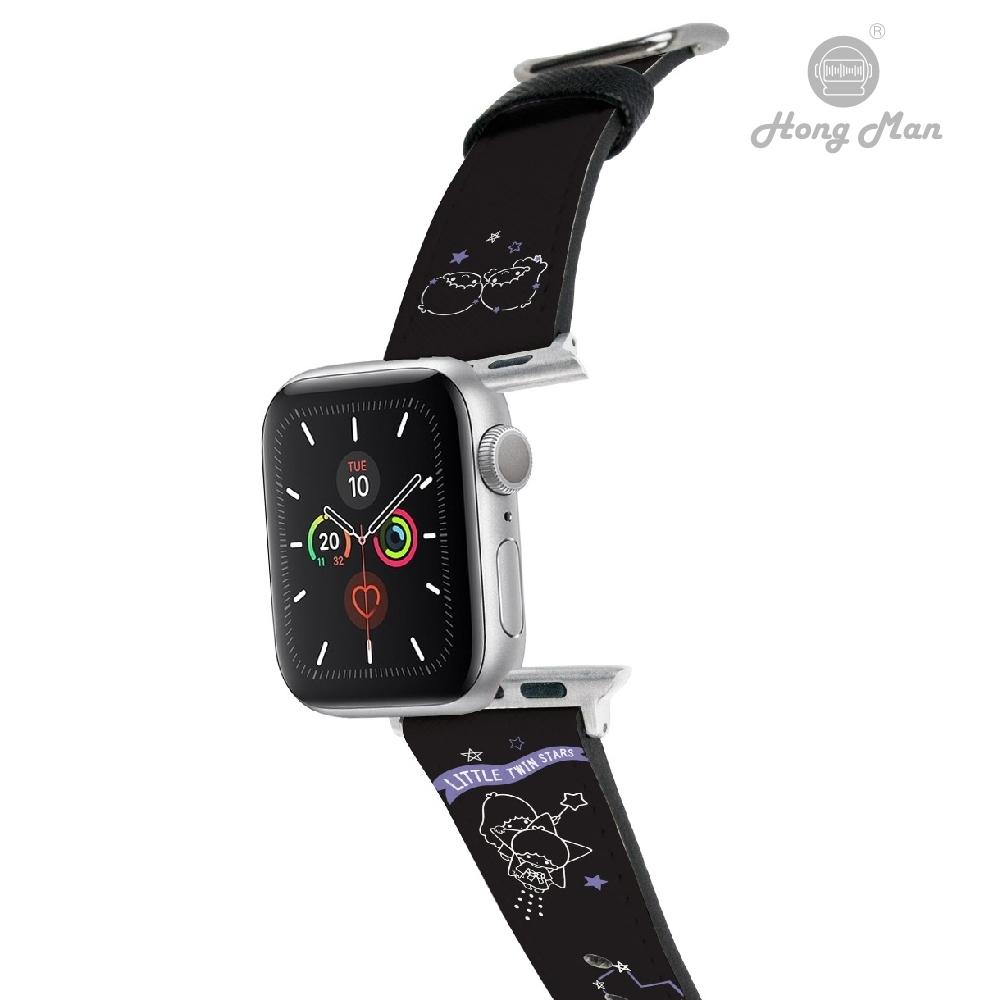 三麗鷗系列 Apple Watch 皮革錶帶 雙子星 42/44mm @ Y!購物