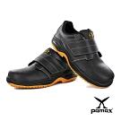 PAMAX 帕瑪斯-防穿刺鋼頭止滑安全鞋-全雙PU抗菌氣墊-黏貼式-PA9502PPH