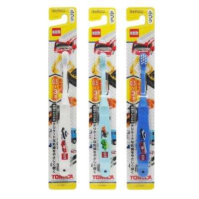 日式卡通兒童牙刷-TOMICA-0.5~3才-6入組