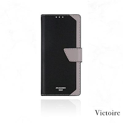 JTL HTC U11 Victoire 設計師款側掀皮套 - 雅緻黑