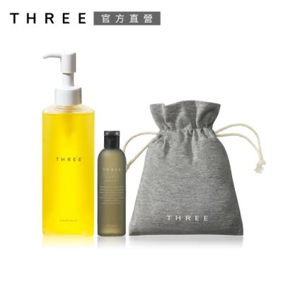 THREE 肌能潔顏組